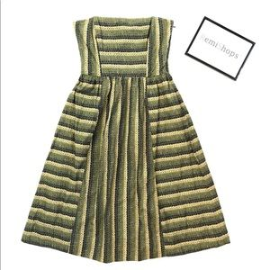 Anthropologie Maple Fit & Flare Chlorophyll 👗